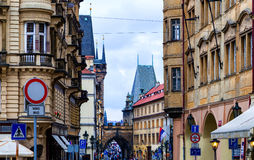 Mala Strana streets Stock Photos