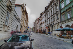 Mala Strana streets Royalty Free Stock Images