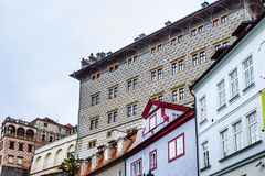 Mala Strana streets Royalty Free Stock Photography