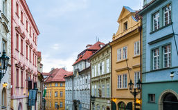 Mala Strana streets Royalty Free Stock Photo