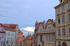 Mala Strana streets Stock Image