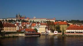 Mala Strana und Prag-Schloss Stockfotografie