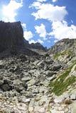 Mala studena dolina - dolina w Wysokim Tatras, Sistani Obrazy Royalty Free
