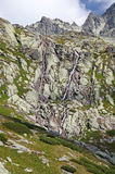 Mala-studena dolina - Tal in hohem Tatras, Slowakei Lizenzfreie Stockbilder
