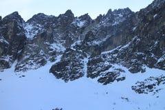 Mala Studena dolina valley, High Tatras Royalty Free Stock Images