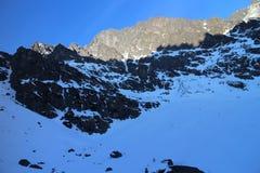 Mala Studena dolina valley, High Tatras Stock Image