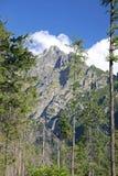 Mala studena dolina - valley in High Tatras, Slova Royalty Free Stock Images