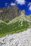 Mala studena dolina - valley in High Tatras, Slova Royalty Free Stock Photos