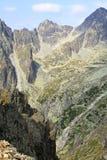 Mala studena dolina - valley in High Tatras, Slovakia Stock Image