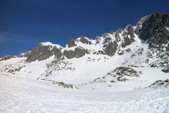 Mala Studena valley in High Tatras Stock Image