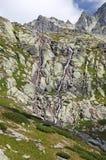Mala studenadolina - dal i höga Tatras, Slovakien Royaltyfria Bilder