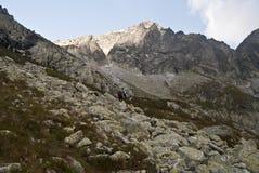 In Mala Zmrzla dolina valley Stock Photos