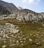 In Mala Zmrzla dolina valley Royalty Free Stock Photography