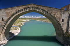 Malabadi Bridge Royalty Free Stock Images