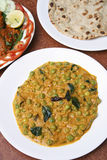 Malabar green peas curry is dish from India Royalty Free Stock Photo