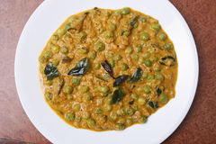 Malabar green peas curry from kerala. Stock Photography