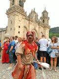 Malabar przedstawienie w Galicyjskim Średniowiecznym przyjęciu obrazy royalty free