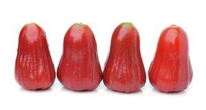 Malabarapfel lokalisiert auf weißem Hintergrund Stockfoto