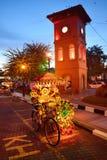 MALACA, MALASIA Imagen de archivo libre de regalías