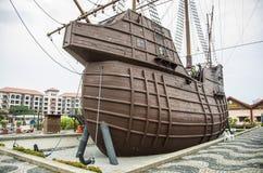 Malacca θαλάσσιο μουσείο, Μαλαισία Στοκ φωτογραφία με δικαίωμα ελεύθερης χρήσης