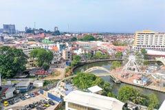 Malacca, Μαλαισία, στις 8 Απριλίου 2018: Malacca η πόλη απονέμεται τα Η.Ε Στοκ Φωτογραφίες