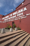 Malacca city Stock Photography