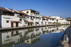 Malacca city with house Stock Photography