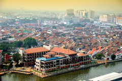 Malacca City Stock Photo