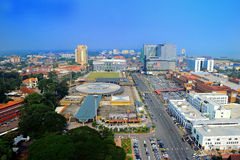 Malacca City. (Malay: Bandaraya Melaka) is the capital city of the Malaysian state of Malacca. It is one of the oldest cities in the Straits of Malacca. It was royalty free stock photography
