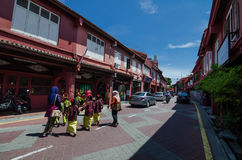 Malacca City. Malacca, Malaysia, 4 June 2017: Malacca, `The Historic State`, of Malaysia located in the southern region. This historical city has been listed as Royalty Free Stock Images