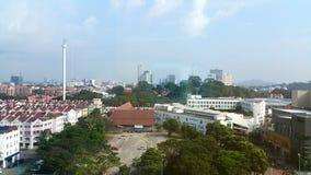 Malacca city skyline. Melaka, Malaysia , taken on 23 December 2018 royalty free stock photography