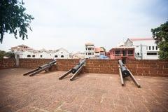 Malacca city, world heritage city  in Melaka, Malaysia Royalty Free Stock Image