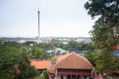Malacca city, world heritage city  in Melaka, Malaysia Stock Photos