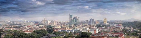 Malacca Cityscape Panorama Stock Image