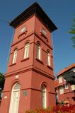 Malacca Clock Tower. Clock Tower in the historical city of Malacca, Malaysia Stock Photos
