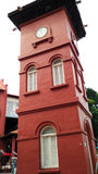 Malacca Clock Tower Stock Image