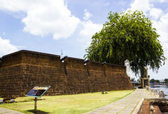 The Malacca fort Royalty Free Stock Photos