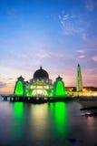 Malacca islam mosque is beutiful islam mosque in Malacca, Malays. Ia Stock Image