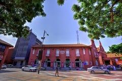 MALACCA, MALÁSIA - 22 DE JULHO DE 2017: Malacca Art Gallery em Malacc imagens de stock royalty free