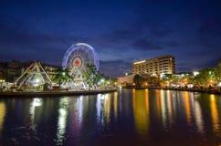 MALACCA, MALAYSIA - MARCH 23: Malacca eye on the banks of Melaka Royalty Free Stock Images