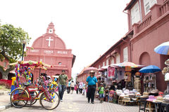 Malacca Malaysia a UNESCO World Heritage Site Stock Photography