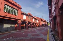 Malacca Malezja, Sep, - 2, 2015 Widok holendera kwadrat w jego Obraz Stock