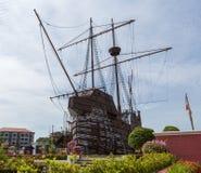 Malacca maritimt museum fotografering för bildbyråer