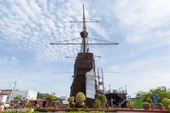 Malacca maritimt museum arkivbild