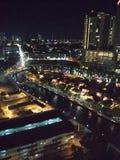 Malacca på natten Royaltyfri Foto