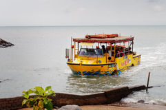 Malacca river cruise boat Royalty Free Stock Images
