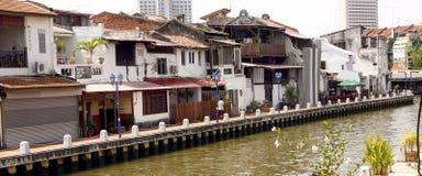 Malacca River Royalty Free Stock Photo