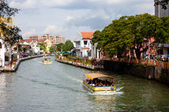 Malacca river, Malaysia Royalty Free Stock Photo