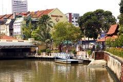 Malacca River Stock Image