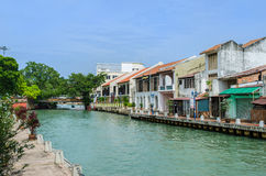 Malacca River Royalty Free Stock Photos